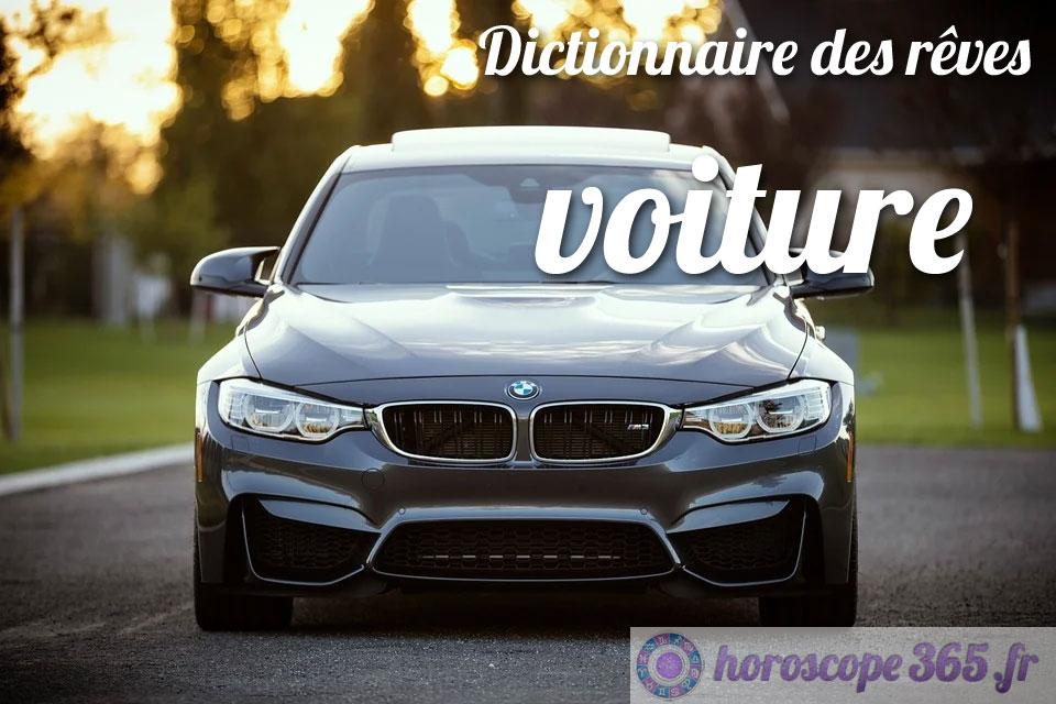 Dictionnaire des rêves : voiture