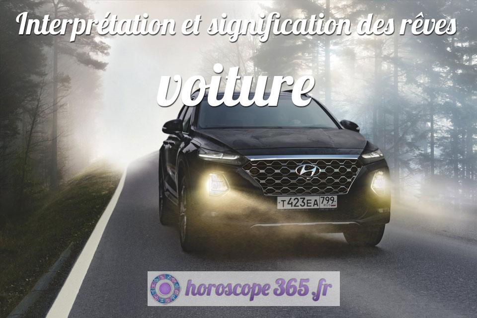 Interprétation et signification du rêve : voiture