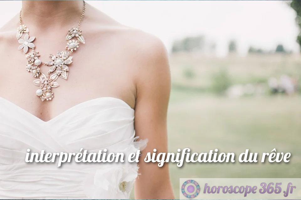 Interprétation et signification du rêve : Robe de mariée