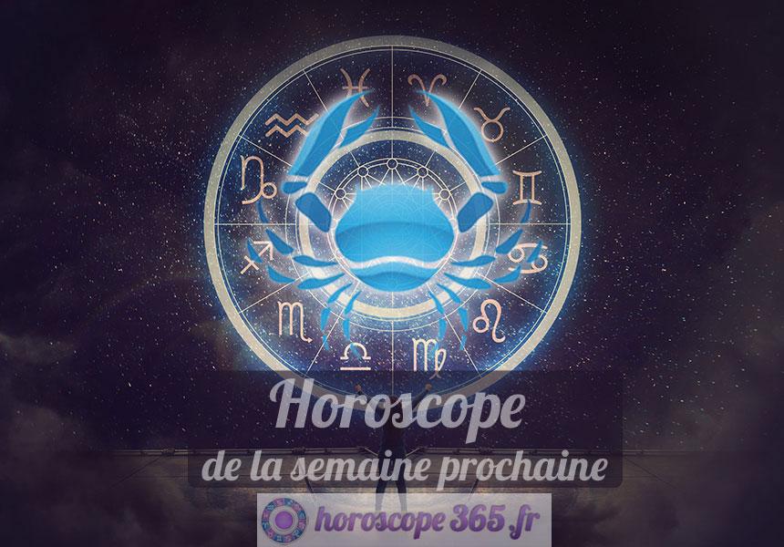 Horoscope Cancer semaine prochaine