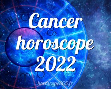 Cancer horoscope 2022