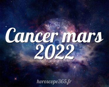 Cancer mars 2022