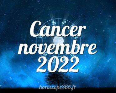 Cancer novembre 2022