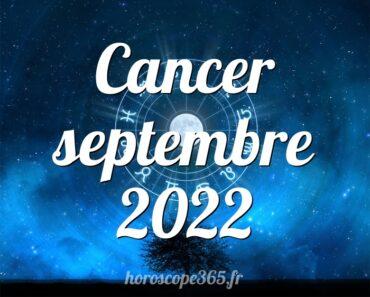 Cancer septembre 2022