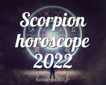Scorpion horoscope 2022